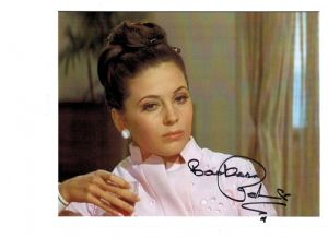 Barbara Parkins, genuine signed autograph, 10 x 8 inch, 06562